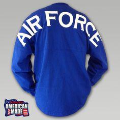Air Force Football Spirit Jersey | ArmedForcesGear.com