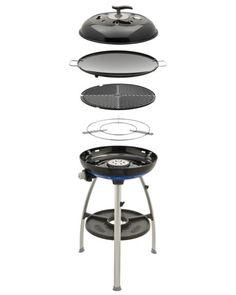 Cadac Deluxe Grill mit 2 Grillplatten 30/mbar