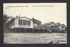 AK-Ostseebad Neukuhren / Ostpreussen,Strandhotel u.Warmbad,gel. 1924-