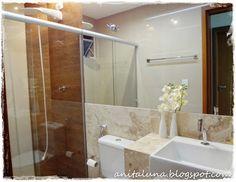 Banheiro decorado. beautiful.