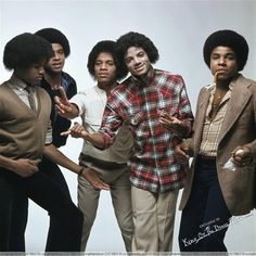 Jackson 5-I don't normally post pictures of the 5 of them but I loved this one too much to not to do so :)