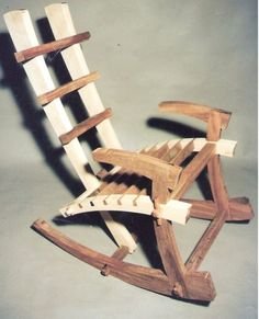 japanese rocking chair when the time it was build - by aviad mishaeli @ LumberJocks.com ~ woodworking community