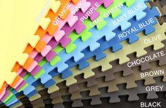 5/8 inch Soft Tiles - Interlocking Foam Floor Tiles $1.49/sq ft
