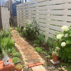 Pin on House Diy Backyard Fence, Backyard Landscaping, Patio, Garden Cottage, Home And Garden, Landscape Design, Garden Design, Mediterranean Garden, Woodland Garden