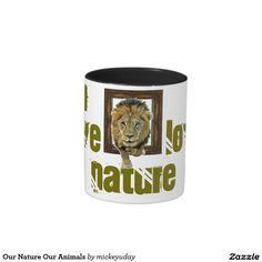 Our Nature Our Animals Two-Tone Coffee Mug