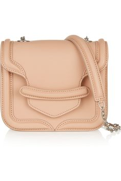 Alexander McQueen The Heroine mini leather shoulder bag