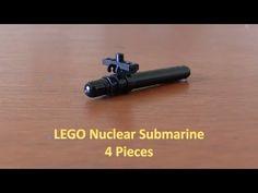 Nuclear Submarine, Lego Military, Lego War, Mini