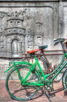 old bikes by Watze D. de Haan