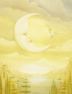 Image result for paintings and artwork lemon moon Pinterest