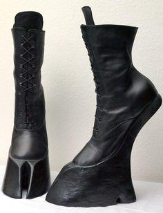 Misanthropic Messiah — horseking-design: SATYR hoof boots Ankle high...