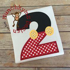 Mouse Boy Number Set