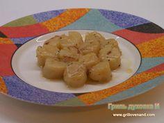 Жареные морские гребешки (с вином)