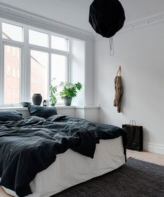 blue bed linen | (my) unfinished home