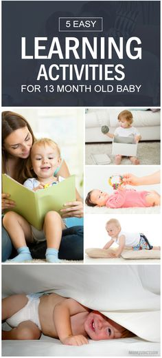 5 Easy Learning Activities For 13 Month Old Baby: Having a little mind to nurture at home can be a challenging and fun task! Read on to know about some activities that your 13 month old will absolutely love.