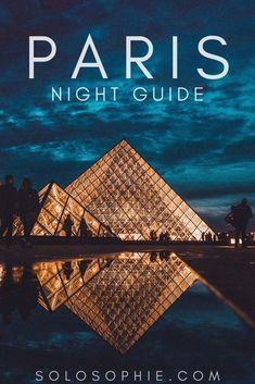 Paris by night: looking for the best things to do in the French capital city during nighttime? Activities, tours, and attractions you'll love in France!