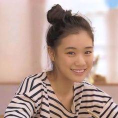 Yu Aoi in stripe Stunning Girls, Beautiful, Hula Girl, Celebs, Celebrities, Bun Hairstyles, Prom Hair, Female Models, Beauty Women