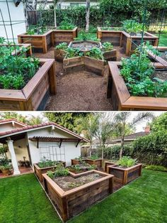 50 Simple  Raised Garden   Designs You Can Do For Your Home Raised Garden Beds  #gardening #raised_garden_beds #garden_designs