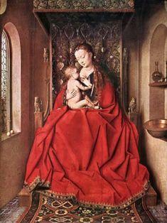 Maria Lactans by Jan van Eyck, c. 1436