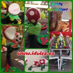 Devoracion mesa, para fiesta de Mario Kart 6 años #birthday #mariokart…