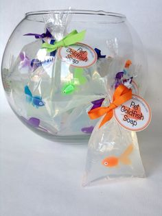 Fish Soap Cute favor for Dr Seuss, fishing, etc type party