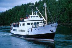 MV Frances Barkley, Bamfield, Pacific Rim, Vancouver Island, BC.