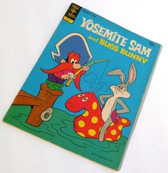 Yosemite Sam and Bugs Bunny Gold Key Comic June by RenewedFinds, $3.99