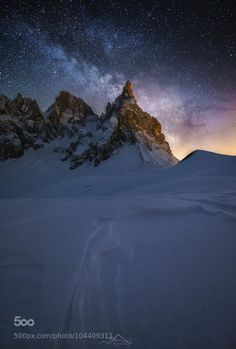Milky Way rising by lightpix