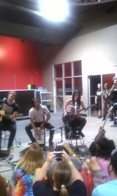 sick puppies in store appearance Best Buy Fairview Heights 7/17/13. Can't believe I got to meet them!