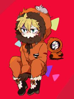 Kenny McCormick ~ rich with character