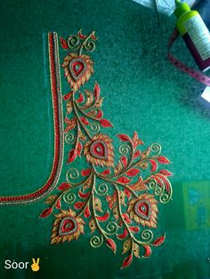 Cutwork Blouse Designs, Best Blouse Designs, Pattu Saree Blouse Designs, Simple Blouse Designs, Dress Neck Designs, Bridal Blouse Designs, Creative Embroidery, Hand Embroidery Designs, Big Rangoli Designs