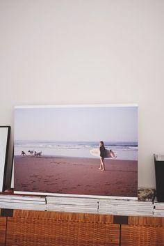 DIY egne fotografier til væggen