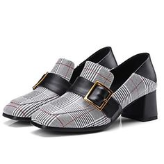 ad40c471a0f Women s Shoes Nappa Leather Fall Comfort Loafers  amp  Slip-Ons Chunky Heel  Red