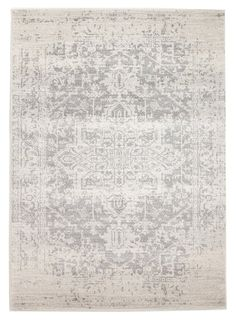 Persian Design Transitional Floor Area Rug Istanbul White Silver Wash Allover in Home & Garden, Rugs & Carpets, Floor Rugs Transitional Living Rooms, Transitional Decor, Transitional Bathroom, Grey Rugs, Beige Area Rugs, Polypropylene Rugs, Thing 1, Lounge, Eclectic Design