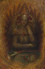El morador del interior (circa 1885-6) por George Frederic Watts  (1817-1904)