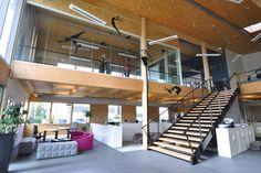 Ecoffice > Éco-socio conception, aménagement et optimisation associés aux 3 piliers du développement durable dans le cadre de la construction d'un nouveau site tertiaire.