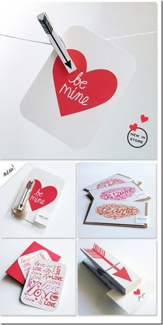 DIYhand embroidered Valentines Day cards Creative crafting