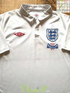 2010 England Home World Cup Football Shirt (M) 46d1866f0