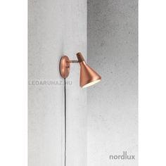 Nordlux Float réz fali lámpatest GU10 foglalattal