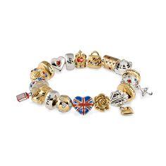 Heart of Britain 2012 Edition Charm Bracelet Love Amazon :)