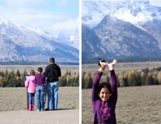 Visiting the Grand Tetons in Wyoming #travel #family