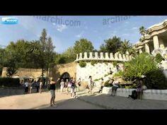 Visita virtual - Barcelona: Park Güell - Entrada - YouTube