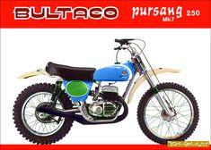 Vintage Bikes, Vintage Motorcycles, Custom Motorcycles, Retro Bikes, Motocross Bikes, Vintage Motocross, Cycling Bikes, Old Bikes, Dirt Bikes