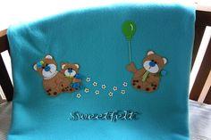 ♥♥♥ Bom comecinho de semana a todos!! by sweetfelt \ ideias em feltro, via Flickr