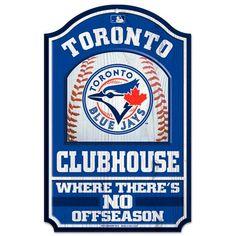 "MLB Toronto Blue Jays WinCraft 11"" x 17"" Wall Sign"