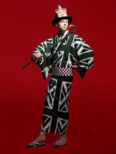 伊勢丹x東京10ブランドとのコラボ浴衣 - YUKATA will grace this summer town: Tokyo Summer Madness.- Image from Fashionsnap.com