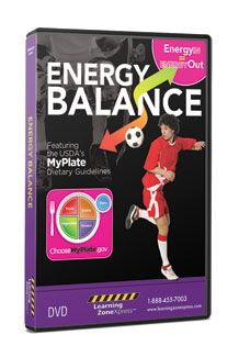 Staying Active and Healthy Educational Classroom Video: Energy Balance DVD  $79.95  #Sports #Activity #Schools #Coach #Teacher #Physical #Education
