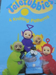 Teletubbies Sweaters Children & Adult's 4 Knit PATTERN Laa Laa Dipsy Tinky Winky Po 1996 Knitting Ragdoll Productions Ltd Patterns Cool Patterns, Vintage Patterns, Cross Stitch Patterns, Knitting Patterns, Crochet Patterns, Men's Fashion, Vintage Fashion, Fashion Patterns, Costume Patterns