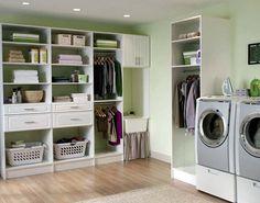 My dream laundry room via @HomeKlondike.com.com. Thanks to @Matty Chuah SITS Girls #LGatBBC
