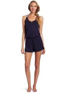 Josie by Natori Sleepwear Women's Bardot 3 Inch Inseam Romper ( VIP Fashion Australia www.vipfashionaus... - international clothes shop )