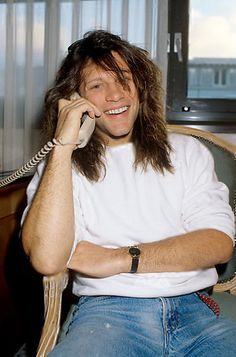 Jon Bon Jovi on 09.12.1989 in Oldenburg.